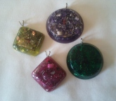 Square & round pendants